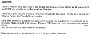 enquete insee loyers