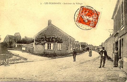 rue grande et rue au Beurre aux environs 1900.